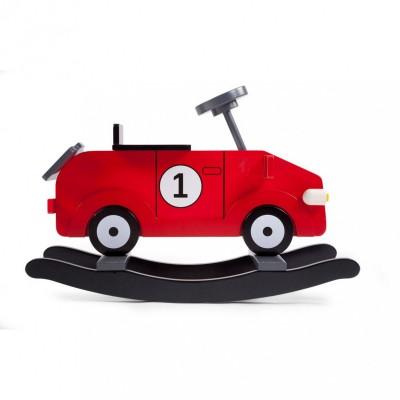 Ma première voiture à bascule rouge  par Childhome