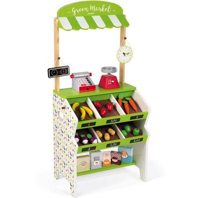 Stand d'épicerie Green Market  par Janod