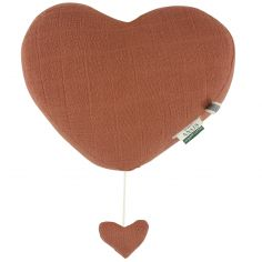 Coussin musical Bliss Rust