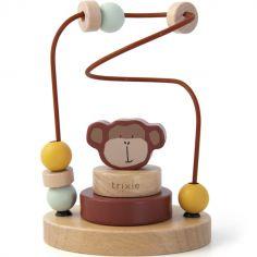 Boulier en bois avec tour à empiler singe Mr. Monkey