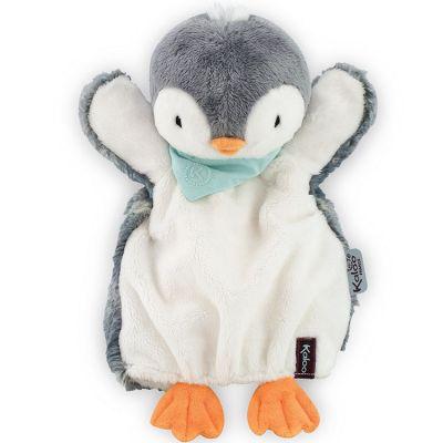 Doudou marionnette Les amis Pepit le pingouin (30 cm) Kaloo