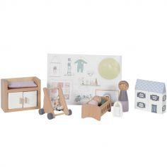 Chambre de bébé et accessoires en bois