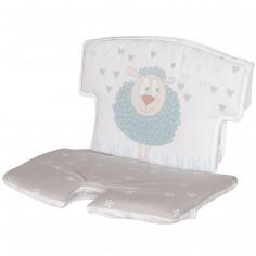 Coussin de chaise haute tissu Syt mouton