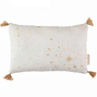 Coussin rectangulaire Sublim Gold stella blanc (20 x 35 cm)  par Nobodinoz