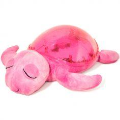 Veilleuse peluche tortue tranquille rose