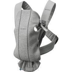 Porte-bébé Mini Jersey 3D gris clair