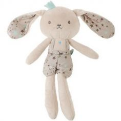 Peluche lapin bleu Stories (29 cm)