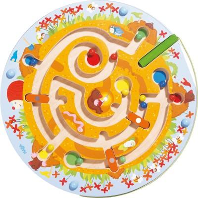 Jeu magnétique Labyrinthe taupinière  par Haba