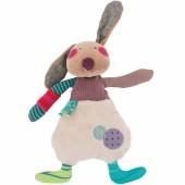 Peluche lapin Jolis pas beaux (26 cm) - Moulin Roty