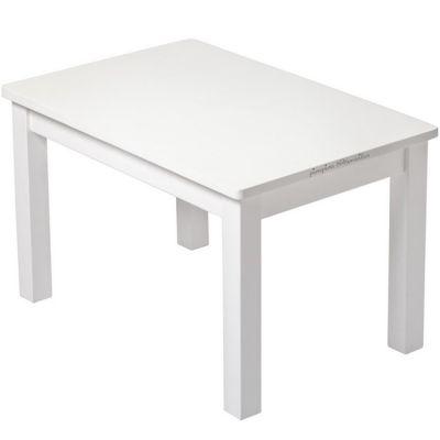 Table d'enfant en bois massif blanc  par Pioupiou et Merveilles