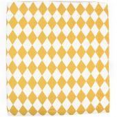 Couverture bébé Copenhagen Losange jaune miel (70 x 80 cm) - Nobodinoz