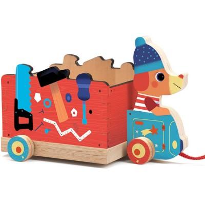 Camion à tirer Jo Truck  par Djeco