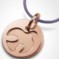 Collier cordon ''Paloma'' (or rose 750°)