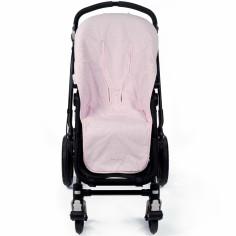 Assise d'été universelle pour poussette Petite Etoile vichy rose