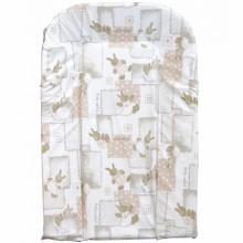 Matelas à langer PVC motif lapinoux (44 x 70 cm)  par Combelle