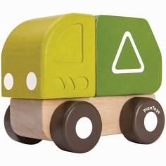 Mini camion de recyclage
