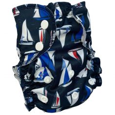 Maillot de bain couche lavable Smooth Sailing (2,5-16 kg)