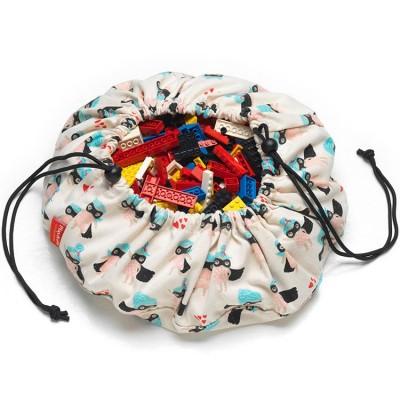 Mini sac à jouets 2 en 1 Supergirl  par Play&Go