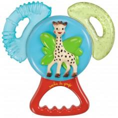 Anneau de dentition réfrigéré vibrant Sophie la girafe