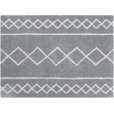 Tapis rectangulaire Oasis gris (120 x 160 cm)