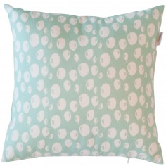 Coussin carré Balloon Turquoise