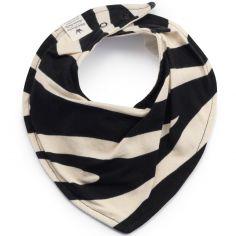 Bavoir bandana Zebra Sunshine