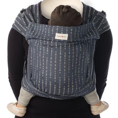 Porte bébé chinois BB-Tai coton bio Jacquard L.O.V.E.  par Babylonia carriers