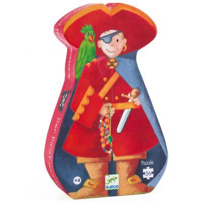 Puzzle Le pirate et son trésor (36 pièces)  par Djeco