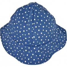 Chapeau été Bord de mer Cape bleu à pois (9-12 mois)