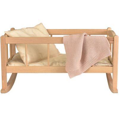 Berceau de poupée en bois avec couverture  par Egmont Toys