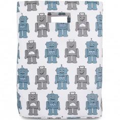 Sac à jouets Robot bleu