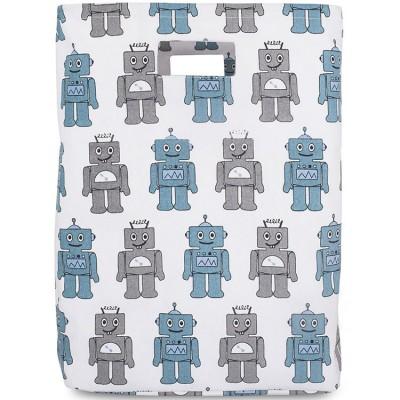 sac jouets robot bleu jollein berceau magique. Black Bedroom Furniture Sets. Home Design Ideas