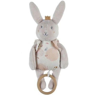 Peluche musicale à suspendre lapin Lina & Joy (23 cm)  par Noukie's