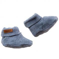 Chaussons bébé blue (0-3 mois)