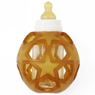 Biberon anti-colique avec balle étoile (120 ml)  par Hevea
