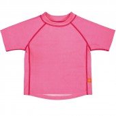Tee-shirt de protection UV Splash & Fun rose (6-12 mois) - Lässig