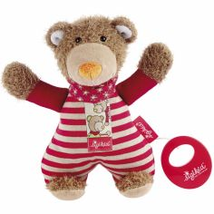 Peluche musicale ours rouge Wild and Berry Bears (22 cm)