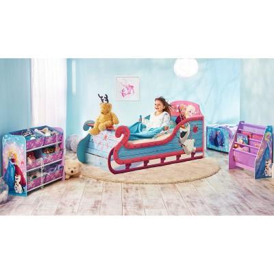 lit enfant forme traineau la reine des neiges (90 x 190 cm)