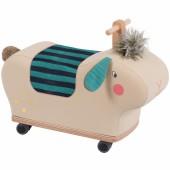 Mouton à roues multi-directionnelles Les Zig & Zag - Moulin Roty