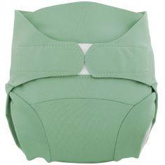 Culotte couche lavable classique TE2 vert eucalyptus (Taille L)