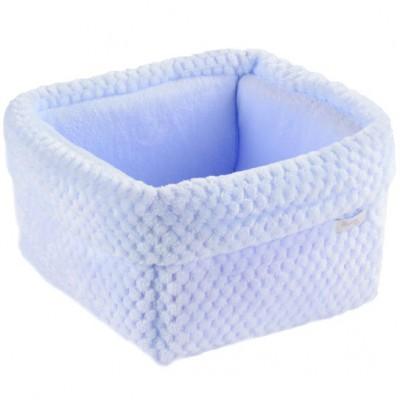 Panier de toilette Beryl bleu  par Nougatine