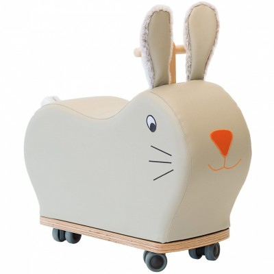 Porteur forme lapin roue folle Moulin Roty