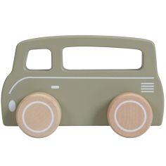 Petite camionnette olive