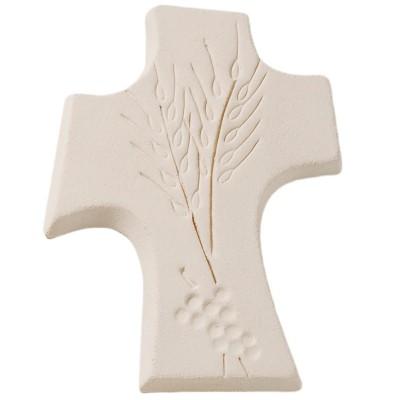 Petite croix Première communion  par Centro Ave Ceramica