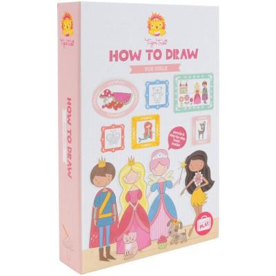 Coffret à dessins Comment dessiner Pour les filles