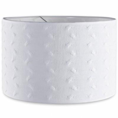 Abat-jour Cable Uni blanc (30 cm)  par Baby's Only
