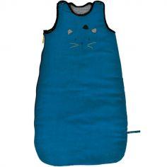 Gigoteuse chaude chat bleue Les Moustaches TOG 3,1 (70 cm)