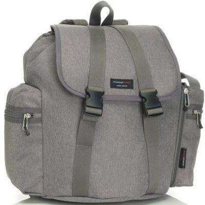 Sac à dos à langer de voyage Backpack gris  par Storksak