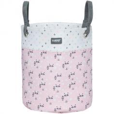 Panier de toilette avec anses Racoon Pink (26 x 30 cm)