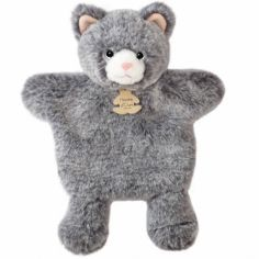 Peluche marionnette Chat Sweety Mousse (25 cm)